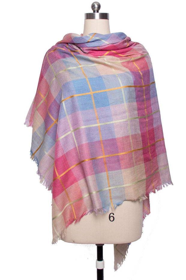 Pretty Plaid Scarf