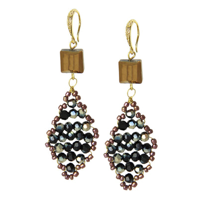 Danica Beaded Drop Earring