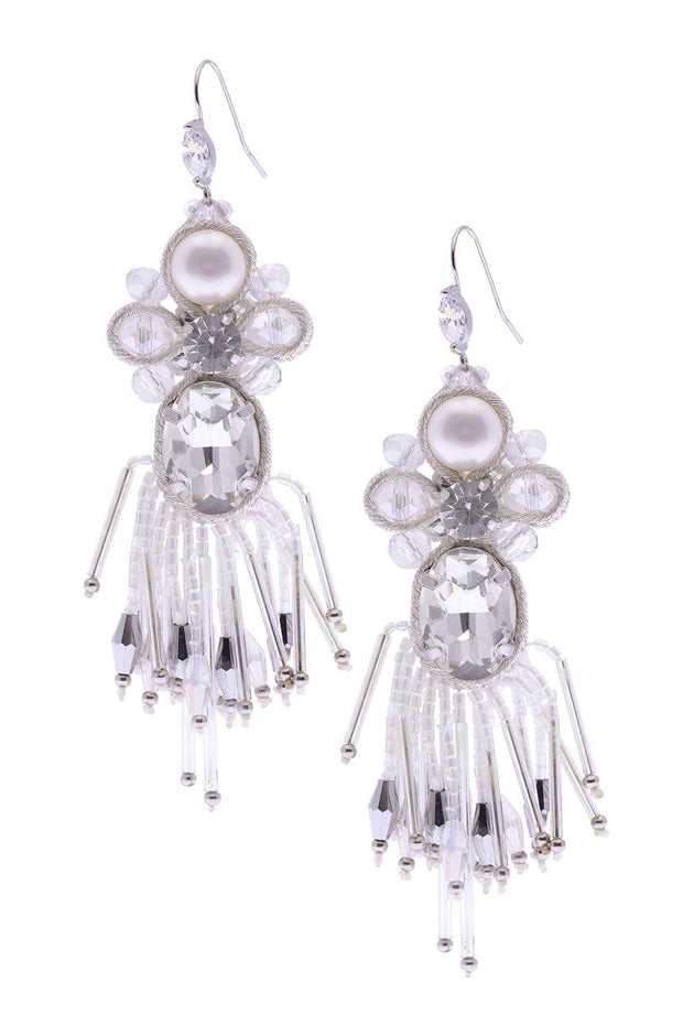Dazzling Flair Chandelier Statement Earrings