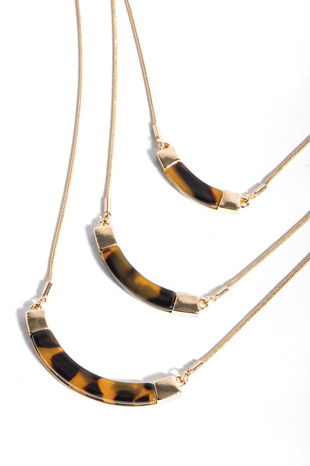 Triplex Layered Necklace