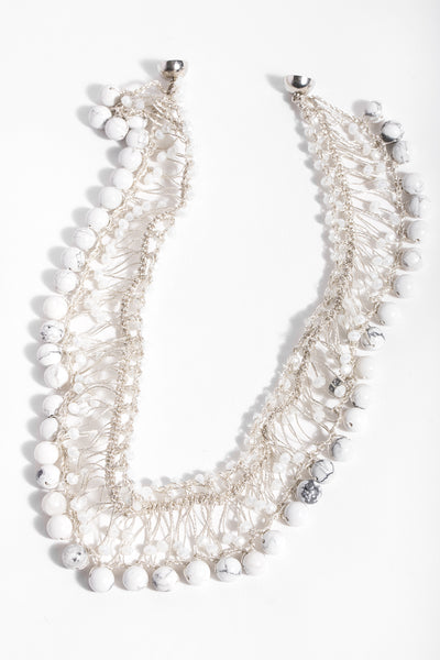 Madame Beaded Collar Necklace