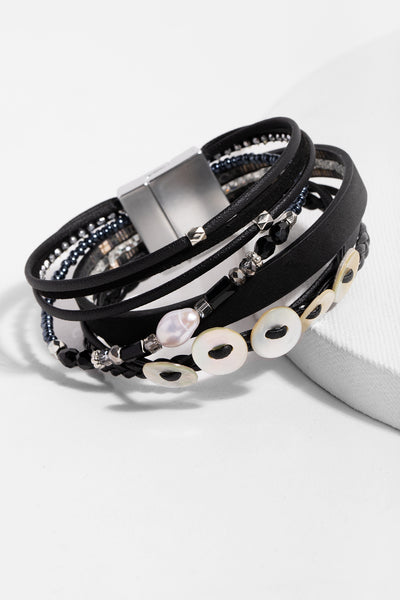 Spice Market Leather Bracelet