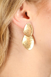Wave Drop Earring