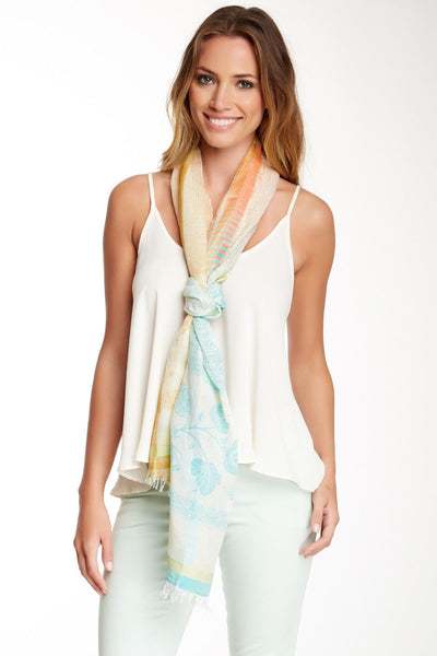 Oaklyn Spring Colored Scarf