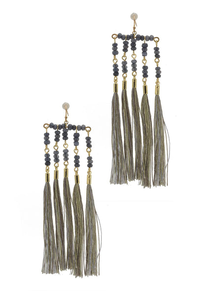 Kavali Tassel Dangle Earring