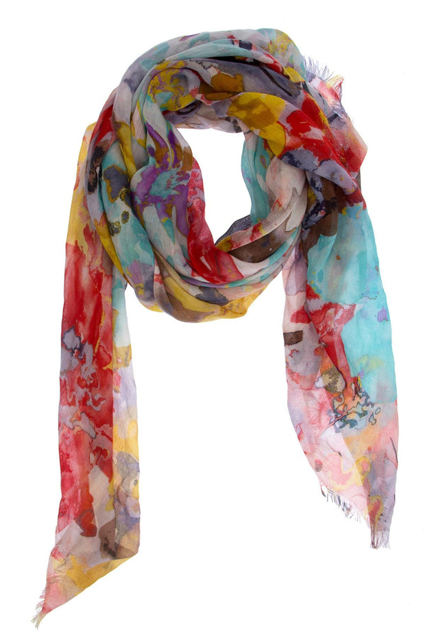 Modal Colorful Scarf
