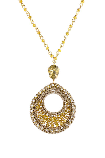 Vivaan Teardrop Pendant Necklace