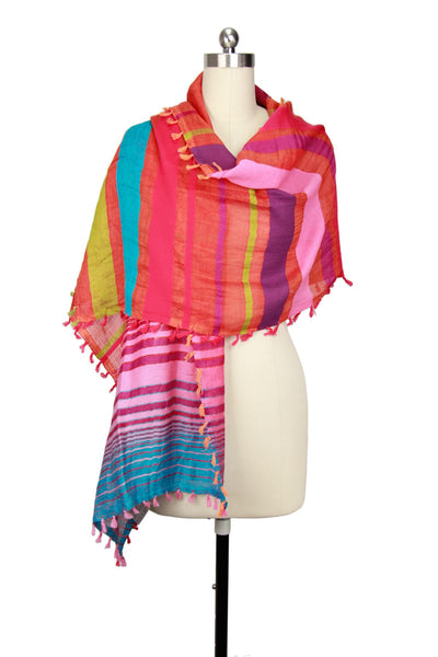 Valda Multi Colored Scarf