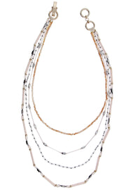 Nightlight Long Layered Necklace
