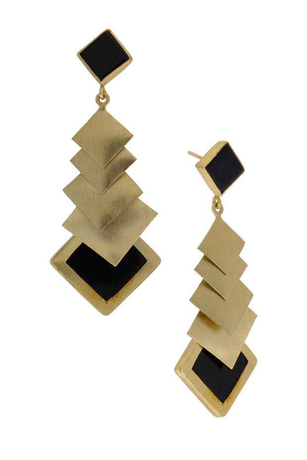 Gemini Dangle Earring