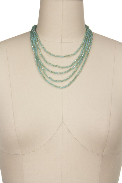 Signature Layered Crystal Necklace