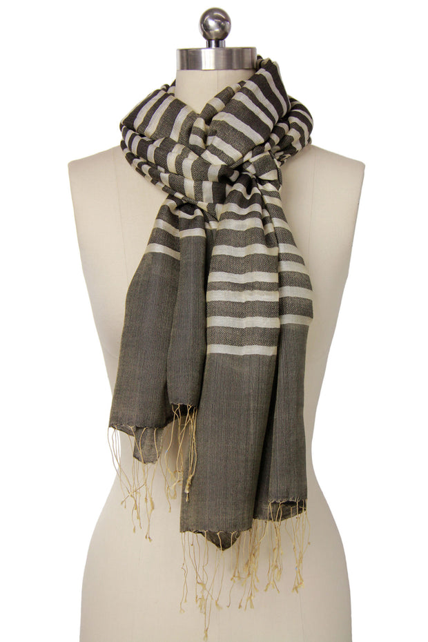 Camille Striped Scarf