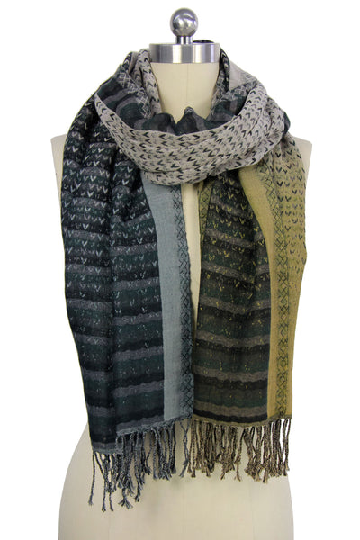 Arrow Cotton Scarf
