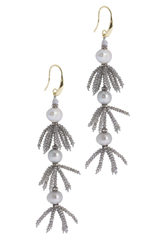 Tarmeen Dangle Pearl Earring