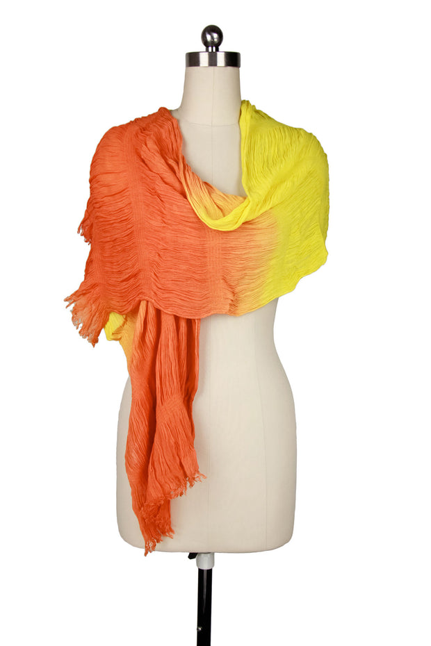Crinkled Ombre Scarf