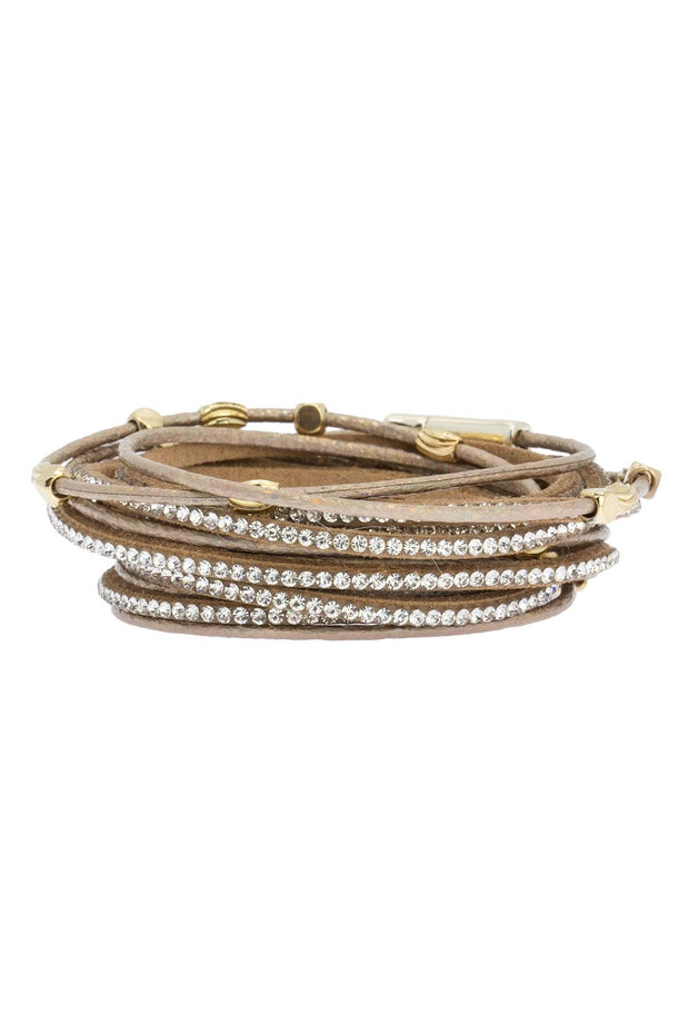 Electric Youth Stud Wrap Bracelet