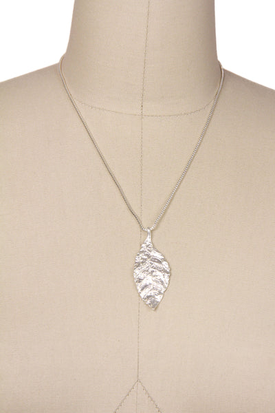 Lightweight Leaf Chain Necklace