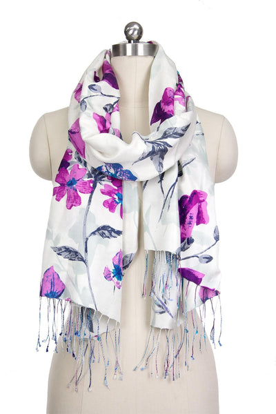 Scattered Flowers Scarf