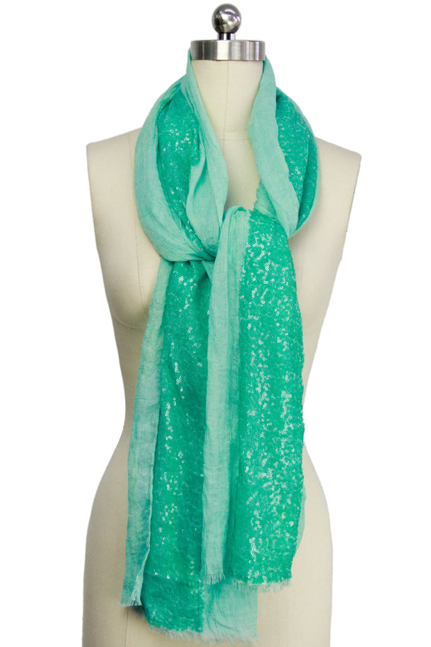 Shimmer Sequined Scarf
