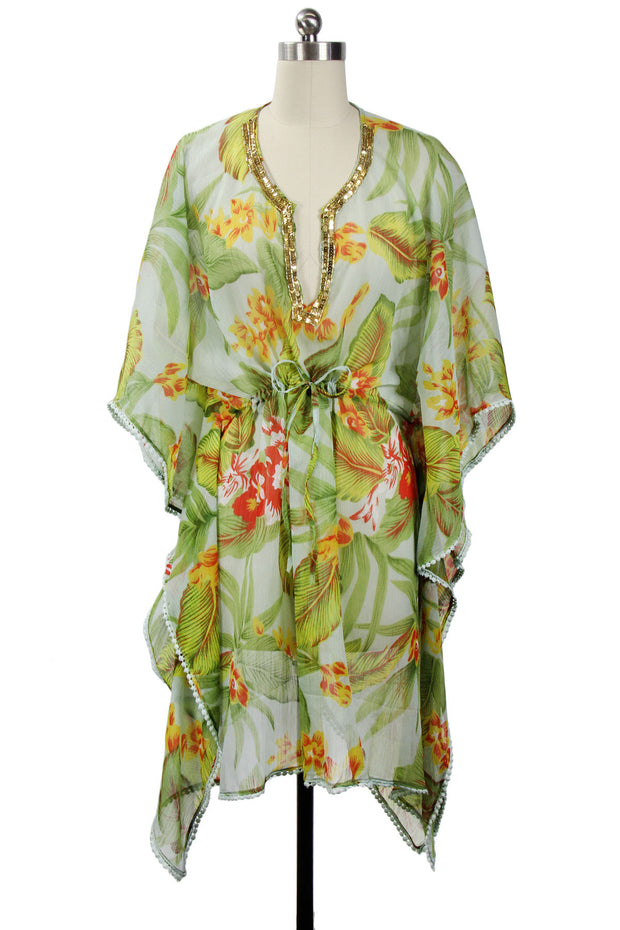 Resort Tunic Jungle Green