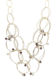 Modern Loop Statement Necklace