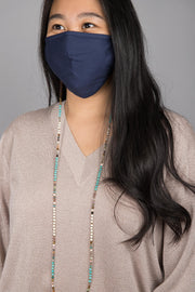Hand-Beaded Convertible Mask Chain