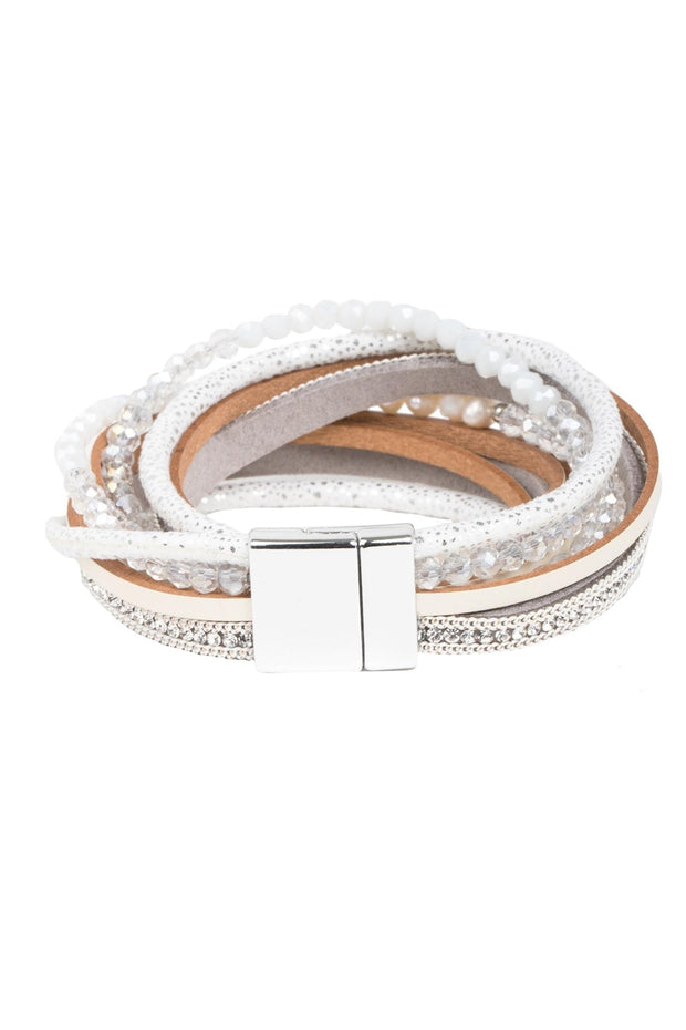Serilda Leather Bracelet