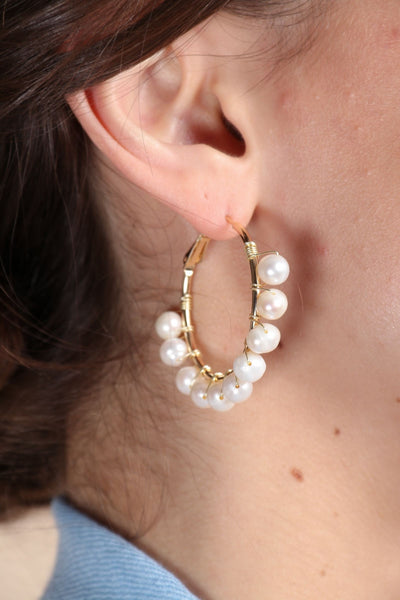 Rushing Water Earring