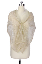 Kalia Pleated Sheer Scarf