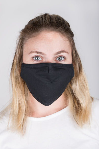 Adjustable Solid Face Mask with Two PM2.5 Filters