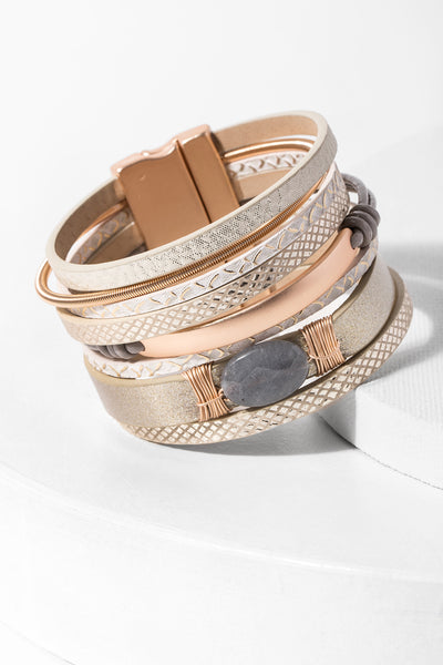 Refined Leather Bracelet