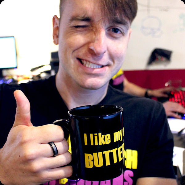 """I like my coffee with BUTTERSCOTCH"" Mug"