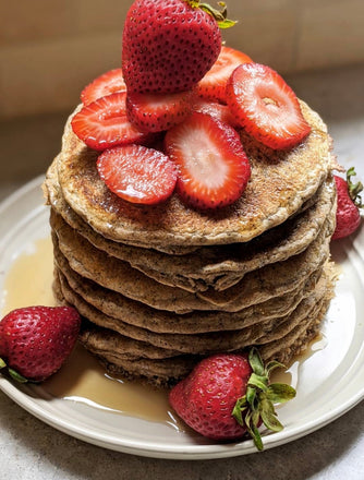 Protein-packed powerhouse pancake