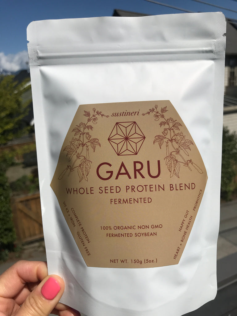 Garu Fermented whole seed protein blend, 150g