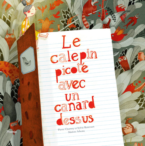 Le calepin picoté avec un canard dessus | A Dotted Notebook With a Duck On It