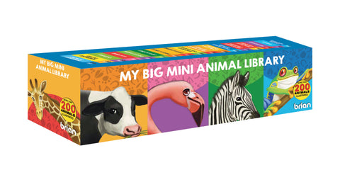 Ma mini encyclopédie des animaux | My Big Mini Animal Library