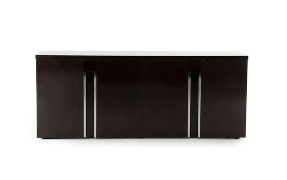 Modrest Christa Modern Ebony High Gloss Buffet