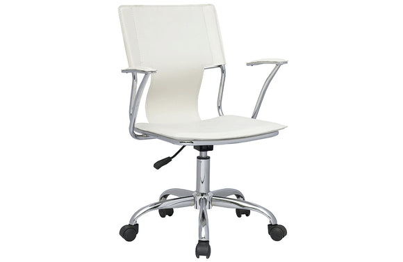 Casa Eleganza Office Chair 0648 White