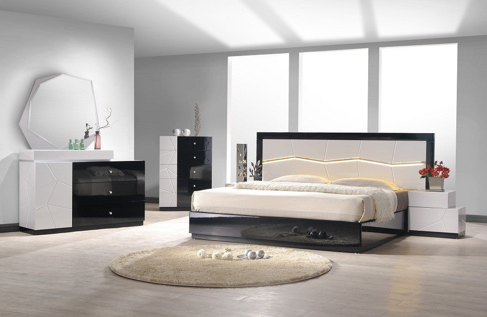 Turin Bedroom Set Queen Buy 843 In A Modern Furniture