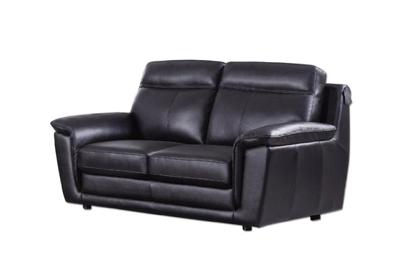 Giannes Loveseat Black