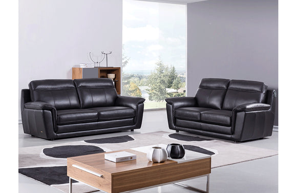 Giannes 2 PC Living Room Set Black