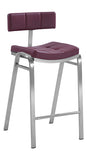Peyton Quilted Staionary Counter Stool