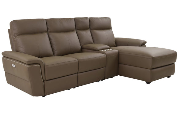 Nico  4pc Sectional Sofa Chaise Facing Right