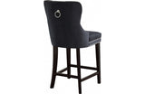 Abella Black Bar Stool