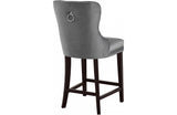 Abella Grey Bar Stool