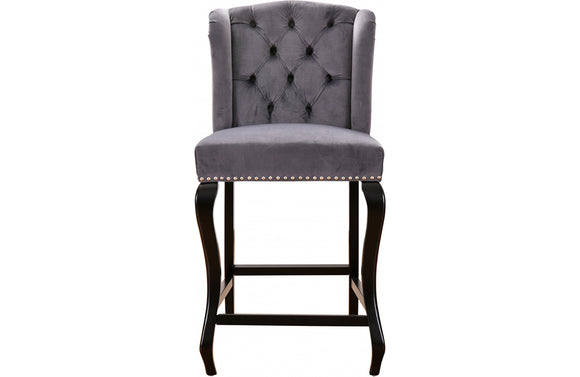 Abir Grey Bar Stool