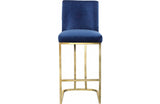 Abrielle Navy Bar Stool