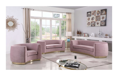 Amazing Ximena Pink Sofa Set Interior Design Ideas Gentotthenellocom