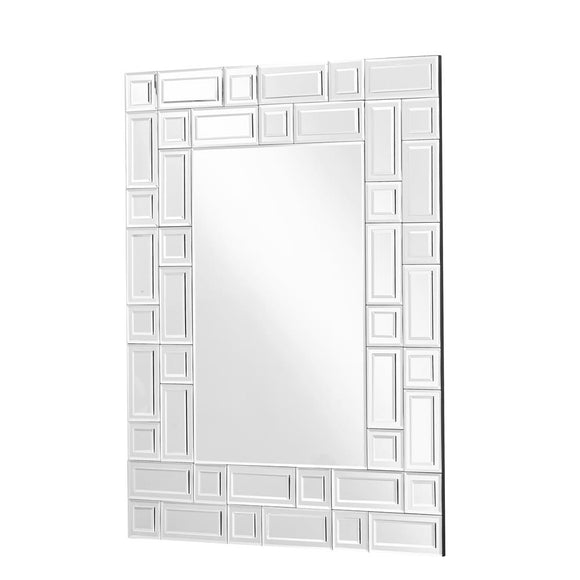Modern Rectangle Mirror in Clear