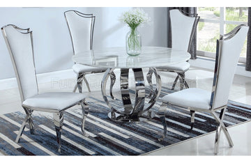 Ulrico and Zaralh 5 PC Dining Set